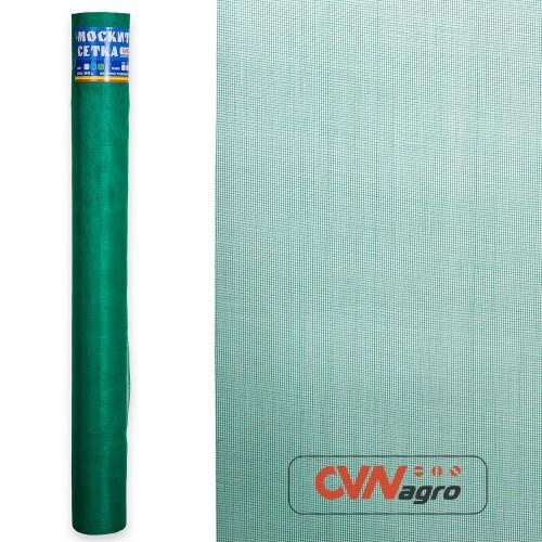 Сетка противомоскитная 1,6мх50м зеленая   (FIBERGLASS)